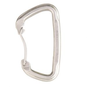 GYM STAINLESS STEEL WIRE GATE CARABINER